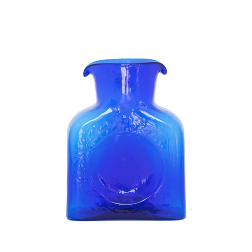 Blenko Glass Mini 384 Cobalt Water Bottle | The Shops at Colonial Williamsburg