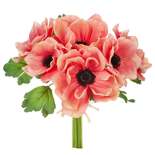 """Coral Anemone Bundle, 11.5"""" 