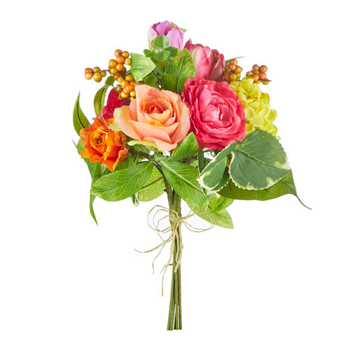 """Rose and Ranunculus Bouquet, 15""""   The Shops at Colonial Williamsburg"""