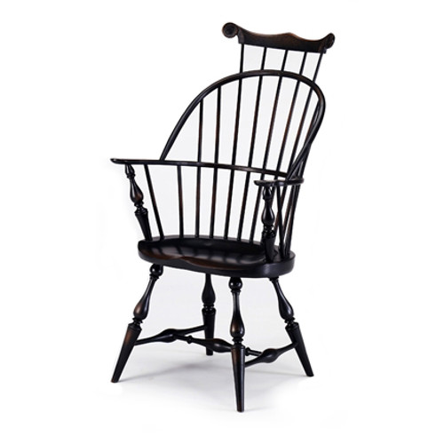 Bowback Armchair with Comb by Benner's Woodworking | The Shops at Colonial Williamsburg