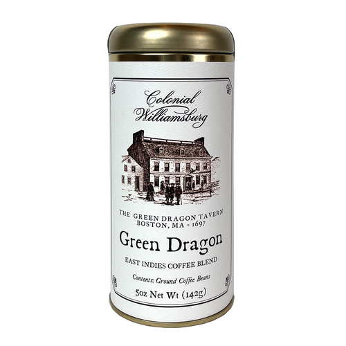 Green Dragon Premium Ground Coffee Canister  | The Shops at Colonial Williamsburg
