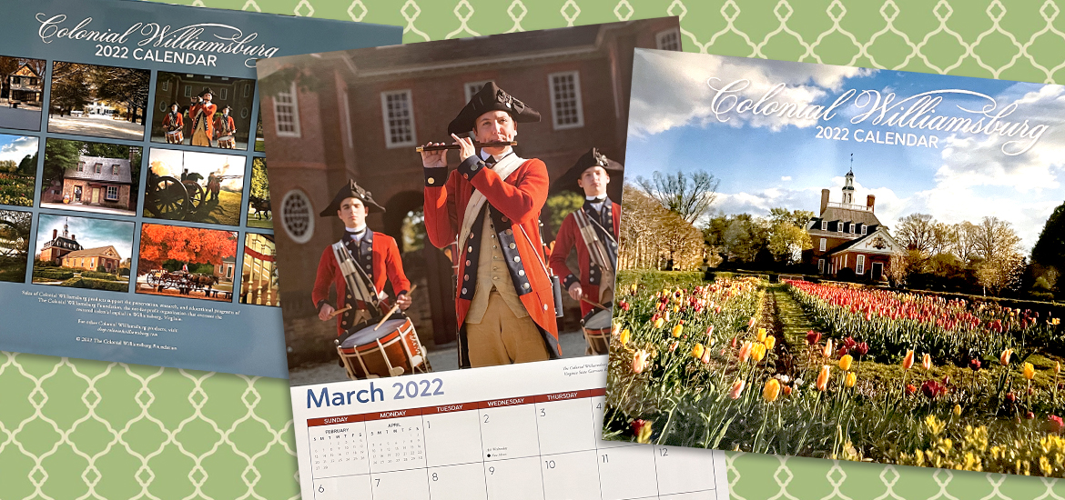 Picture of 2022 Colonial Williamsburg Wall Calendar