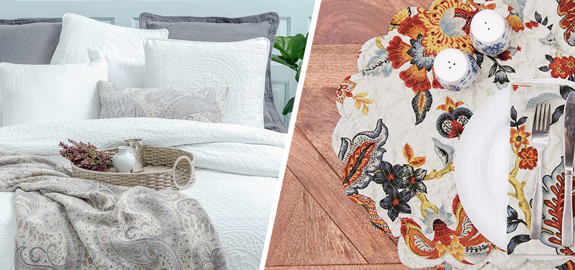 Picture of William & Mary Bedding and Kennedy Table Linens