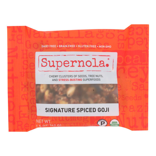 Supernola - Nuts Sgntr Hnyswt Gji - Case of 12-1.5 OZ