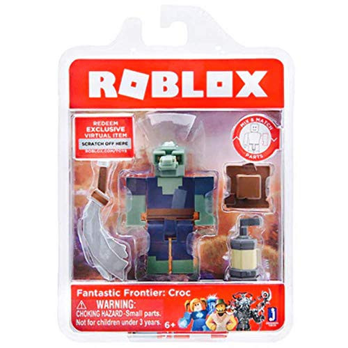 Roblox Fantastic Frontier: Croc Single Figure Core Pack with Exclusive Virtual Item Code