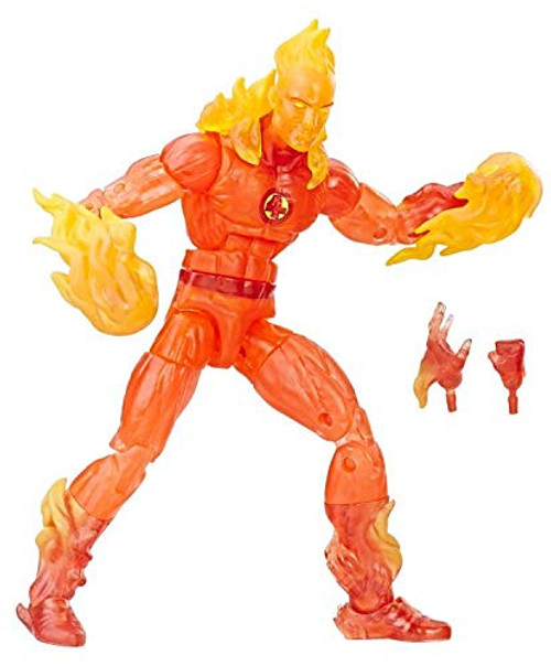 Fantastic Four Marvel Legends The Human Torch Exclusive Action Figure