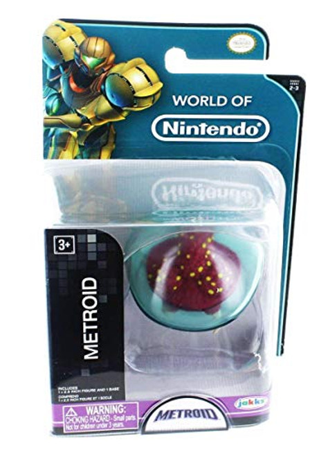 "Nintendo World of 2.5"" Mini Figure: Metroid"