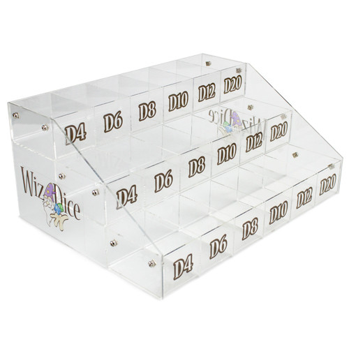 Wiz Dice Acrylic Display