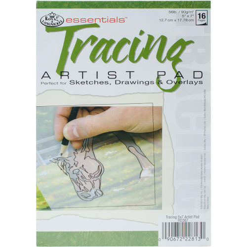 Essentials Tracing Paper Pads 16 Sheets 5X7