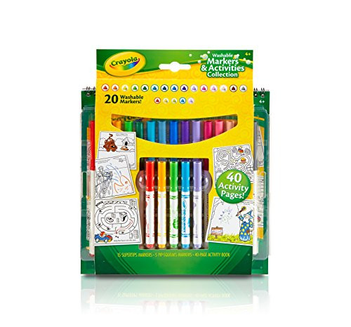 Crayola Washable Markers & Activities Collection