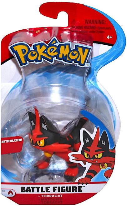 Pokemon Torracat Battle Figure Pack Series 2