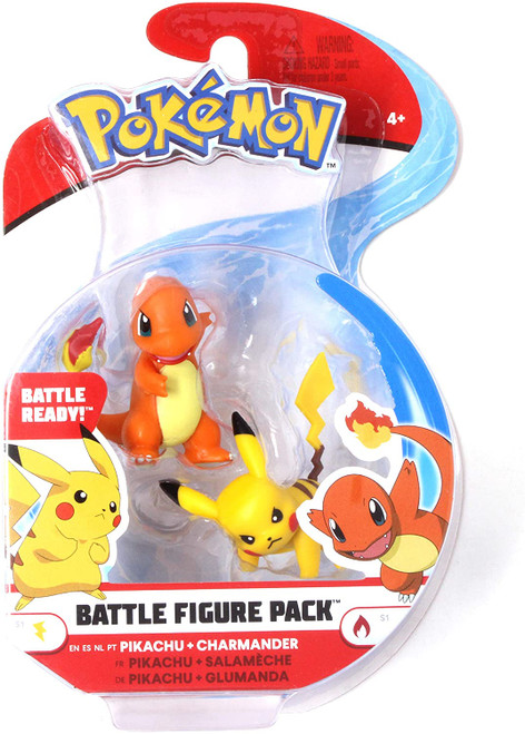Battle Figure Pack Pikachu and Charmander