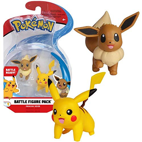 Pokemon Battle Figure Pikachu - Eevee