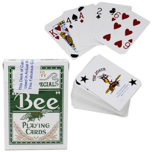 Bee Casino Playing Cards - Used Product Assorted