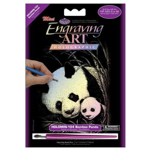 Bamboo Panda Mini Holographic Engraving Kit