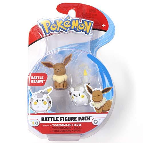 Pokemon Battle Figure Pack Togedemaru and Eevee