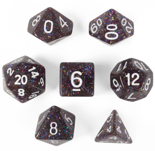 Sparklier Vomit, Set of 7 Polyhedral Dice
