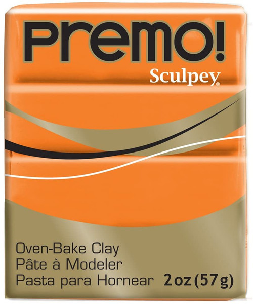 Premo Sculpey Polymer Clay 2oz Orange