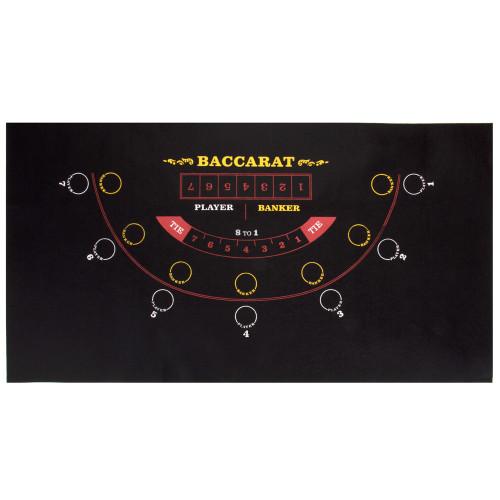 Mini Table Felt, Baccarat