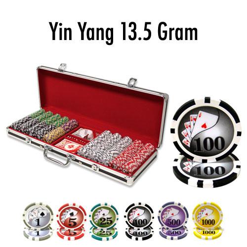 500 Ct - Custom - Yin Yang 13.5 G - Black Aluminum