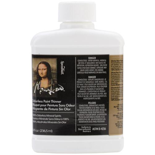 Mona Lisa Odorless Paint Thinner 8oz