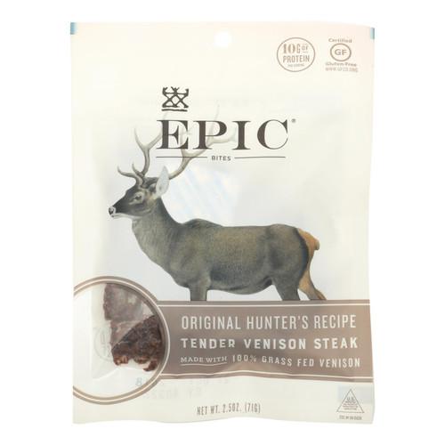 Epic - Bites - Venison - Case of 8 - 2.5 oz