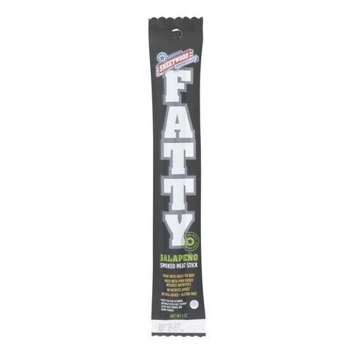 Sweetwood Jerky Company Meat Stick - Jalapeno - Case of 20 - 2 oz