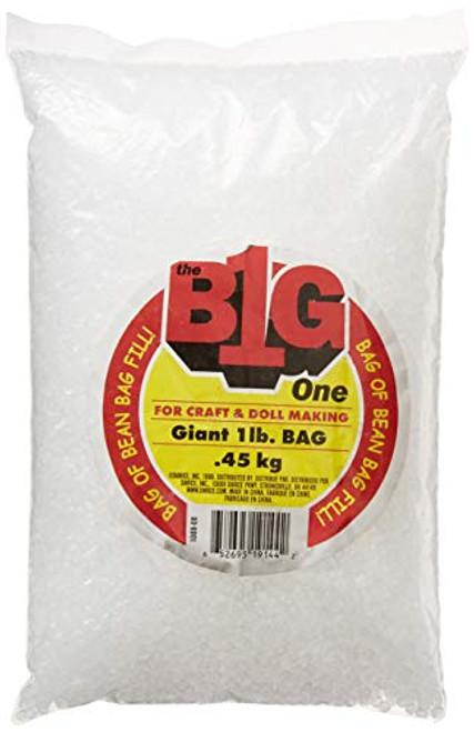 Beanbag Fill Pellets 1 lb Bag Clear