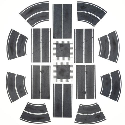 Paved Roads 2D Terrain Pack