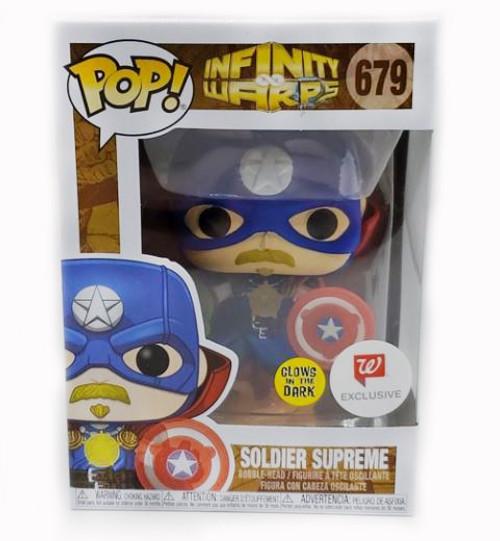 Funko Marvel Soldier Supreme 679