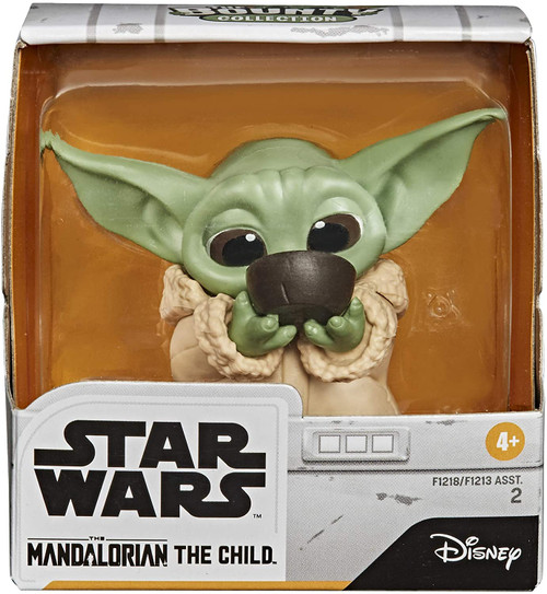 The Mandalorian Sipping Soup Child