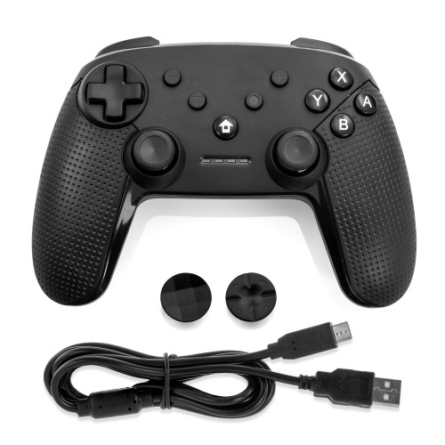 Gamefitz Wireless Controller for the Nintendo Switch in Black