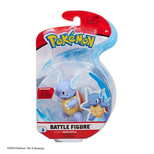 Pokemon Wartortle Battle Figure