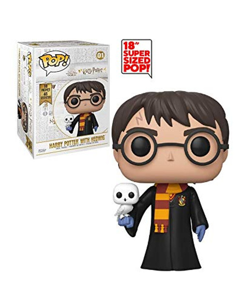 Funko Pop! 18 Inch Harry Potter with Hedwig Super Sized Pop! Vinyl Figure