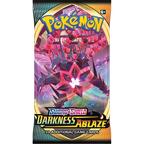 Pokemon Sword & Shield Darkness Ablaze-Booster Packet
