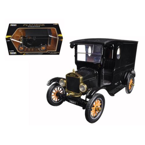 1925 Ford Model T Paddy Wagon Black 1/24 Diecast Model Car by Motormax 79316