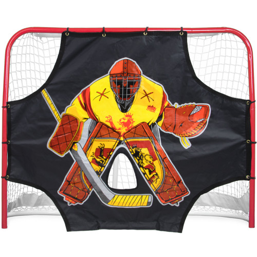 "Ultimate Red Knight Street Hockey Shooting Target 54"" x 44"""