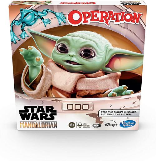 Star Wars The Mandalorian Edition Board Game Operation