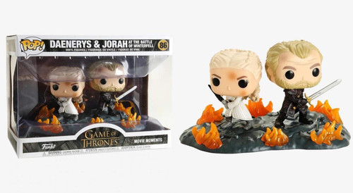 Funko Daenerys & Jorah - At The Battle of Winterfell