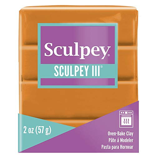 Sculpey III Polymer Clay 2 Ounces - Sweet Potato