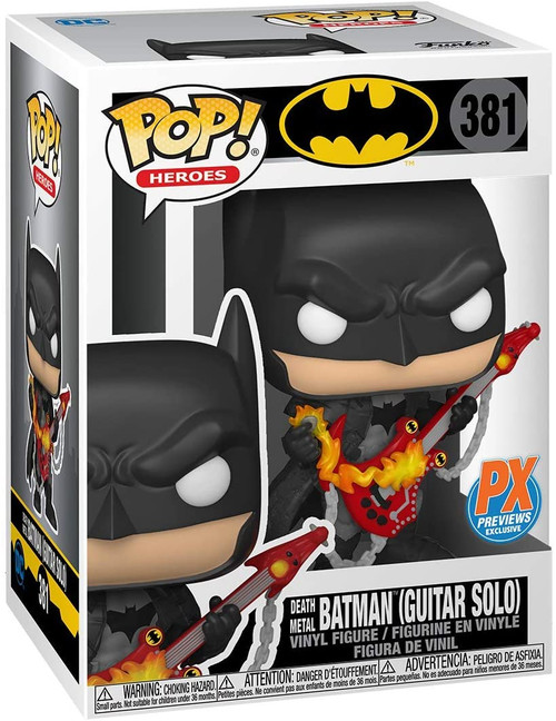 Funko DC Heroes Death Metal Batman with Guitar