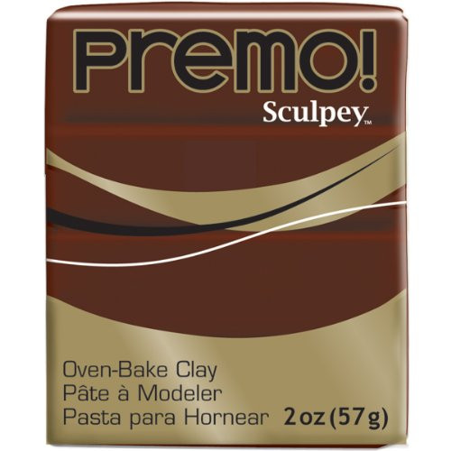 Premo! Polymer Clay 2oz Burnt Umber