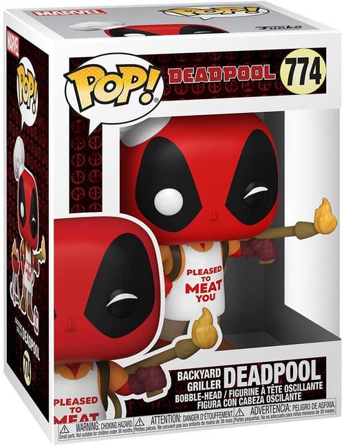 Funko Marvel Backyard Griller Deadpool
