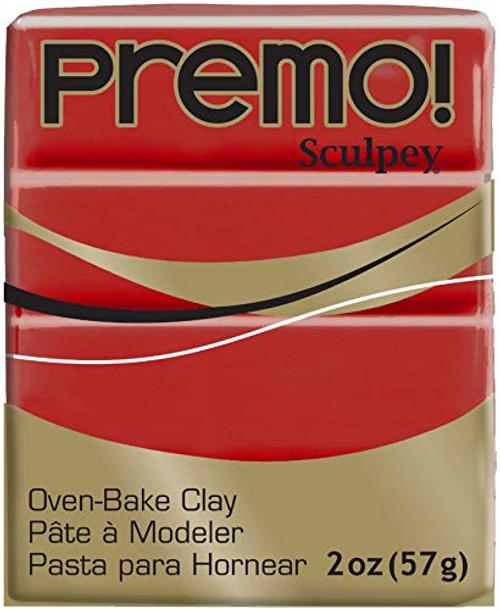 Premo Sculpey Polymer Clay 2oz Cayenne