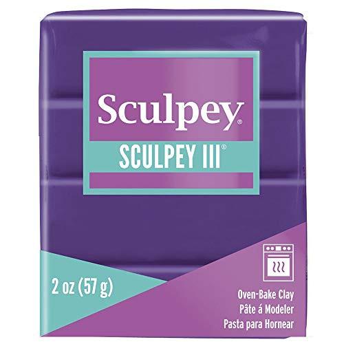 Sculpey III Polymer Clay Purple