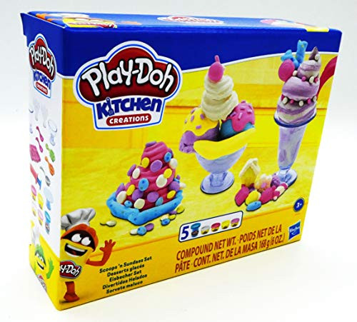 Play-Doh Kitchen Creations Ice Cream Scoops 'n Sundaes