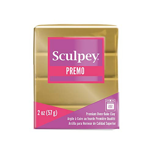 Sculpey Premo Polymer Clay Antique Gold