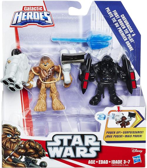 Star Wars Galactic Heroes Chewbacca - TIE Pilot Pack