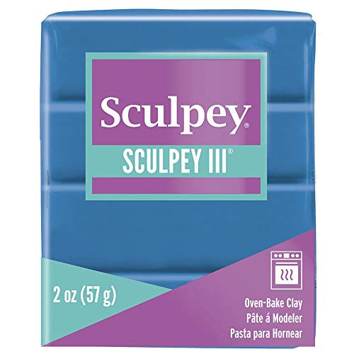 Polyform Sculpey III Clay Turquoise