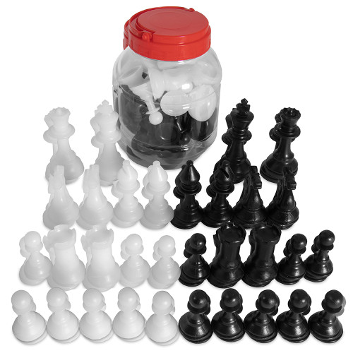 Chess Pieces Bucket